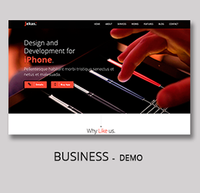 Jekas - Software & Business Bootstrap Template