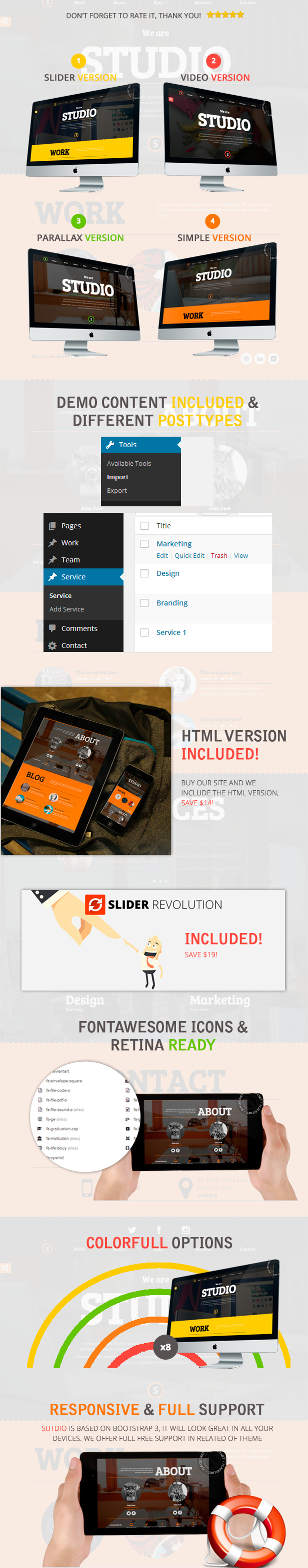 Studio - Multipurpose Software Technology WordPress Theme